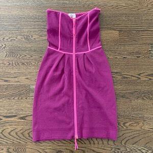 Milly Knit Strapless Dress